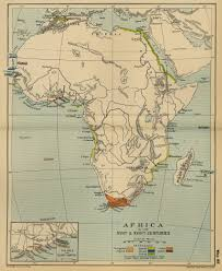 Csusb Map Map Of Africa In The 17th And 18th Centuries Down The Rabbit