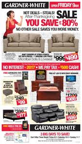 sofa bed black friday deals see the black friday steals now gardner white blog