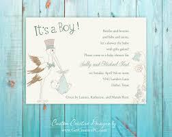 custom spring baby shower invitations get creative blog