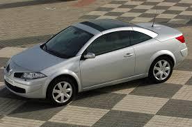 renault megane cabriolet 2006 2009 driving u0026 performance parkers