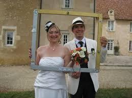 cadre photo mariage cadre de mariage le scrap est dans le pré
