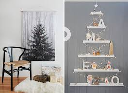 Christmas Decorations For A Large Tree christmas decor ideas 14 diy alternative modern christmas trees