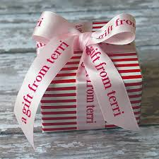 printed ribbons for favors 7 8 personalized ribbon printed ribbon professionally