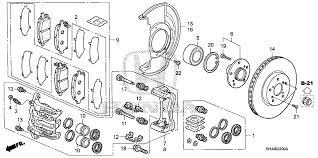 2004 honda odyssey parts diy 2007 honda odyssey front brake rotor page 4