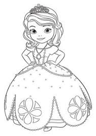 printable disney princesses sofia coloring pages 4th