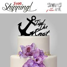 wedding quotes nautical wedding anchor cake topper the knot quote for