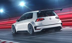volkswagen gti blue 2017 vw golf race car gets the gti treatment customer racing program