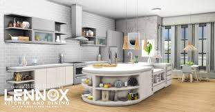simsational designs updated lennox kitchen and dining set
