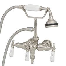 Clawfoot Tub Faucet With Diverter Strom Plumbing Tub Faucet With Diverter For Riser Connection