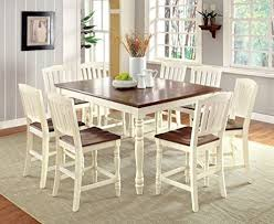 Square Dining Room Table by 8 Seat Square Dining Table Amazon Com
