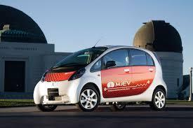 mitsubishi electric car electric vehicle news march 2012