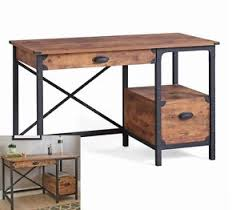 rustic pine writing desk rustic antique writing desk small home office table pine wood metal