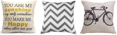 Macy s Shutterfly Decorative Pillow Covers & Audible All