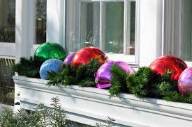 Christmas Window Box Decorating Ideas by Outdoor Christmas Window Ideas Day Dreaming And Decor