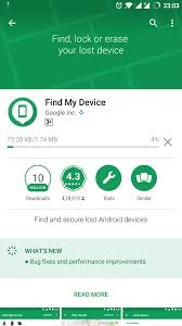 find my android android device manager is now find my device receives update with