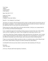 esthetician resume cover letter examples best esthetician cover
