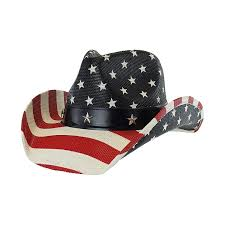 American Flag Camo Hat Men U0027s Vintage Usa American Flag Cowboy Hat W Western Shape It