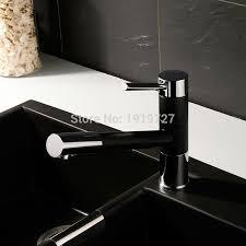 paint kitchen sink black pull out spray 360 degrees swivel spout matte granite black or