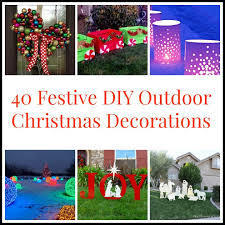 Diy Outdoor Lawn Christmas Decorations 40diyoutdoorchristmasdecorations Jpg