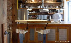 cuisine ouverte avec bar cuisine ouverte avec bar with industriel cuisine décoration de