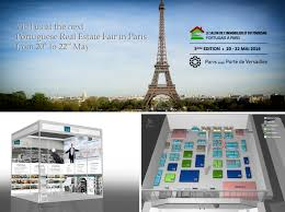 portuguese real estate fair in paris from 20 to 22 may