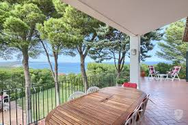 beautiful mediterranean house overlooking the sea in the area of