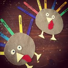 thanksgiving arts and crafts chagne taste budget