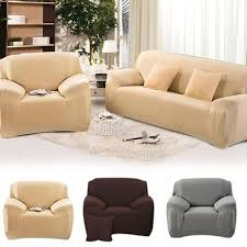 elasticity dustproof sofa cover stretch furniture cover solid