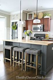 stool for kitchen island diy kitchen island remodel several years in the making but the