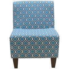 Armless Slipper Chair Slipper Blue Accent Chairs Wayfair Penelope Armless Curt Medallion