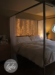 How To Hang String Lights In Bedroom 19 Cozy Ways To Use String Lights In Your Home