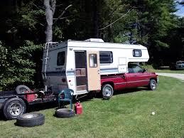 Truck Bed Trailer Camper Leveled 3500 Srw Hauling A 3500 Truck Camper U0026 6000 Trailer