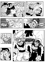 dragon ball fan manga fan manga son goku and superman the clash page 5 kanzenshuu