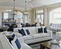 Traditional Home Living Room Decorating Ideas by Blue And White Living Room Decorating Ideas Beautiful Rooms In