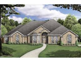 new one story house plans new american house plan with 2532 square and 5 bedrooms s