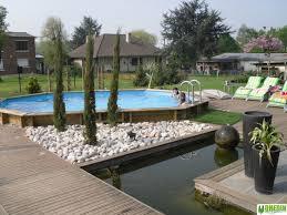 jardin paysager avec piscine dhédin parcs et jardins aménagement plantation entretien et