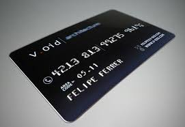 10 cool credit card business cards for a unique brand identity