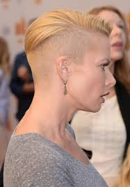 womens shaved head hairstyles fade haircut