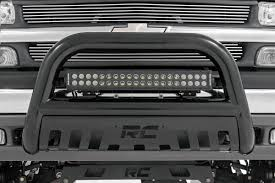 led equipped light bar 20 inch cree led light bar black series 70920bl rough country