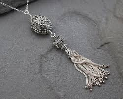 silver tassel long necklace images Long silver tassel necklace clipart jpg