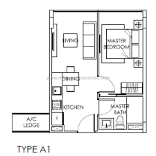 Singapore Floor Plan The Citron Residences