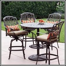 Bar Height Patio Furniture Sets Bar Height Patio Set Walmart Patios Home Decorating Ideas