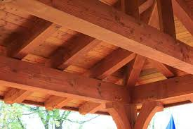 timber frame roof sheathing