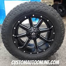 Fierce Off Road Tires Custom Automotive Packages Off Road Packages 20x10 Fuel