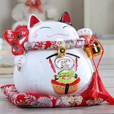 wedding gift japanese lucky cat ceramic ornaments wedding gifts home housewarming gift