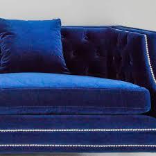navy blue velvet sofa imperial blue velvet sofa luxurious statement sofa