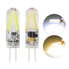 Spotlight Chandelier New Ac Dc 12v G4 Filament Cob Led Light Bulb 5w 8w For Spotlight