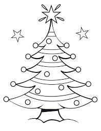 free coloring pages christmas tree coloring pages colourings