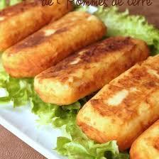 bonne cuisine rapide recette croquettes de pomme de terre ou patate maison gourmande