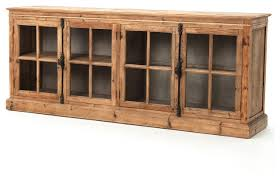 marin french country reclaimed pine sideboard cabinet